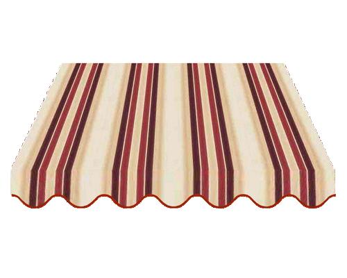 tessuto per tende da sole, rigato
